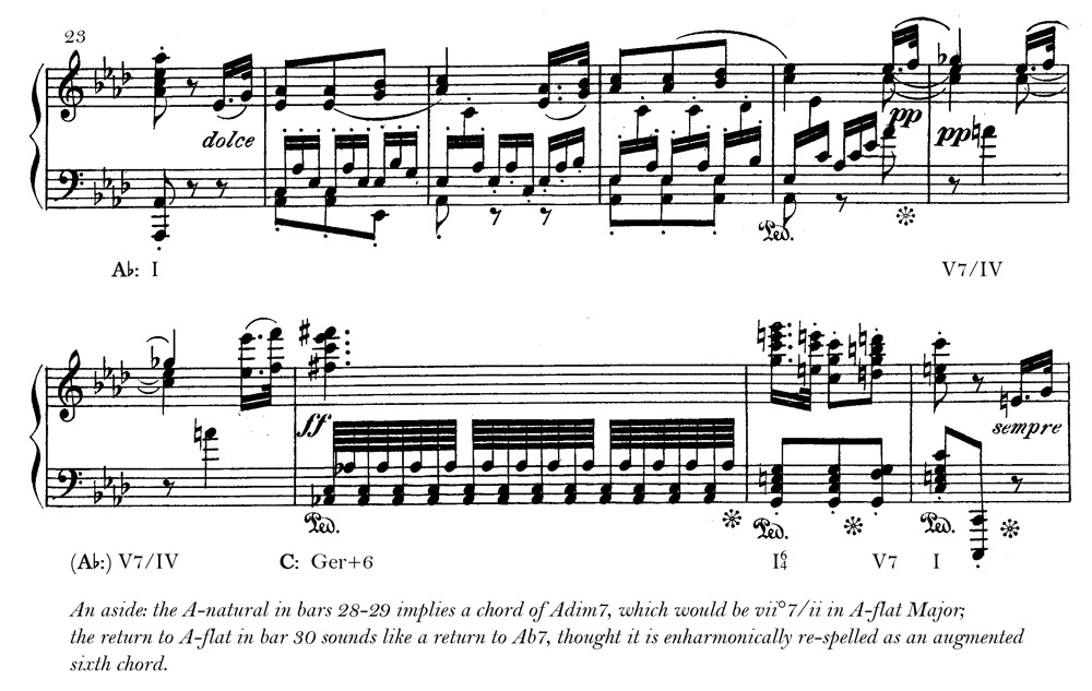 Modulation Examples The Music Theory Profblog