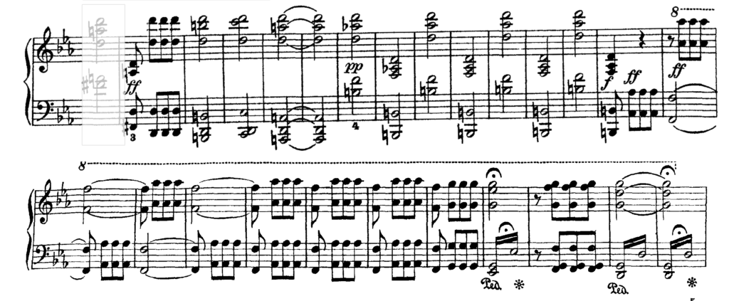 first movement of Beethoven's